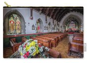 Christmas Church Flowers Carry-all Pouch