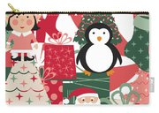 Christmas Collage Carry-all Pouch