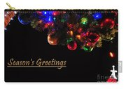 Christmas Decoration Greeting  Carry-all Pouch