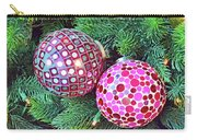 Christmas Dots No. 1-1 Carry-all Pouch