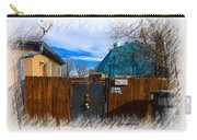 Christmas Down The Alleyway Carry-all Pouch