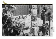 Christmas Eve, C1898 Carry-all Pouch by Granger
