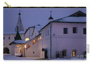 Christmas Evening Light In The Temple Suzdal Carry-all Pouch