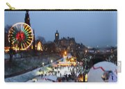 Christmas Fair Edinburgh Scotland Carry-all Pouch