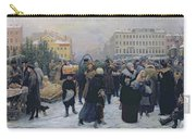 Christmas Fair  Carry-all Pouch by Heinrich Matvejevich Maniser