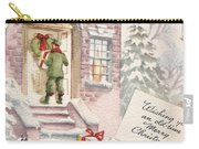 Christmas Greeting Card 36 - Snowy Winter Eve  Carry-all Pouch