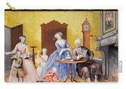 Christmas In The Royal Household Of Empress Maria Theresa Of Austria With Family Carry-all Pouch
