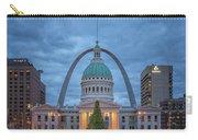 Christmas Jefferson National Expansion Memorial St Louis 7r2_dsc3574_12112017 Carry-all Pouch