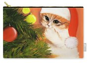 Christmas Kitty Carry-all Pouch