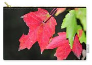 Christmas Leafs Carry-all Pouch