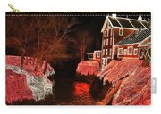 Christmas Lights At Clifton Mill Carry-all Pouch