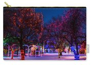 Christmas Lights At Locomotive Park Carry-all Pouch
