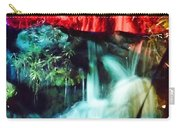 Christmas Lights At The Waterfall Carry-all Pouch