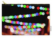 Christmas Lights Bokeh Blur Carry-all Pouch