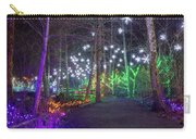 Christmas Lights Decoration Along Lafarge Lake Path Carry-all Pouch