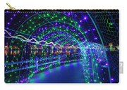 Christmas Lights In Tunnel At Lafarge Lake Carry-all Pouch
