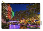 Christmas Lights On The Riverwalk 2 Carry-all Pouch