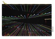 Christmas Lights Zoom Blur Carry-all Pouch