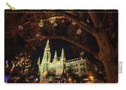 Christmas Market At The Vienna City Hall Carry-all Pouch