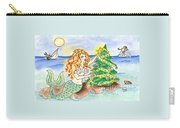 Christmas Mermaid Carry-all Pouch