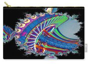 Christmas Needle In Fractal Carry-all Pouch