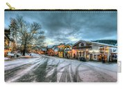 Christmas On Main Street Carry-all Pouch