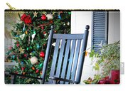Christmas On The Porch Carry-all Pouch
