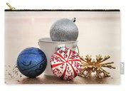 Christmas Ornaments On The Beach Carry-all Pouch
