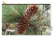 Christmas Pine Cones Carry-all Pouch