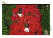 Christmas Poinsettia Display 002 Carry-all Pouch