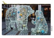 Christmas Polar Bears Carry-all Pouch