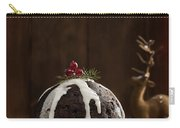 Christmas Pudding With Cream Carry-all Pouch