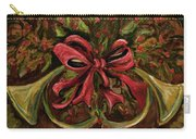 Christmas Red Ribbon Carry-all Pouch
