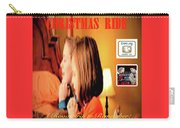 Christmas Ride Family Poster By Karen E. Francis Carry-all Pouch