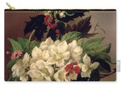 Christmas Roses Carry-all Pouch