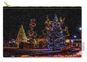 Christmas Snow Storm In Big Bear Carry-all Pouch