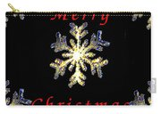 Christmas Snowflakes Carry-all Pouch