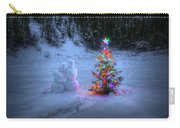 Christmas Spirit At Grouse Creek Carry-all Pouch
