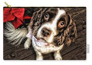 Christmas Springer Carry-all Pouch
