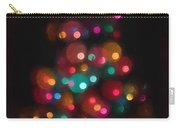 Christmas Tree Circles Abstract  Carry-all Pouch