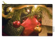 Christmas Tree Decorations And Gifts Carry-all Pouch
