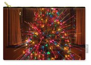 Christmas Tree Light Spikes Colorful Abstract Carry-all Pouch