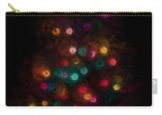 Christmas Tree Splatter Paint Abstract Carry-all Pouch