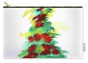 Christmas Tree Watercolor Painting By Moriah Lang