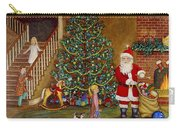 Christmas Visitor Carry-all Pouch by Linda Mears