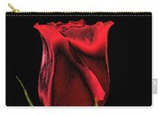 Chromatic Rosebud Carry-all Pouch by Kristin Elmquist