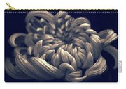 Chrysanthemum Curves Carry-all Pouch