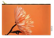 Chrysanthemum Orange Carry-all Pouch