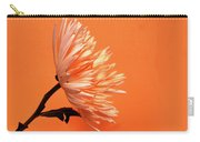 Chrysanthemum Orange Carry-all Pouch