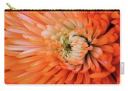 Chrysanthemum Serenity Carry-all Pouch